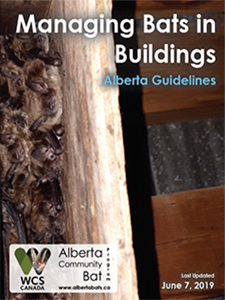 Alberta bat house guidelines